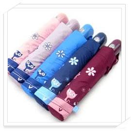 【好傘王】自動傘系_晴雨兩用 玩耍貓 國民傘