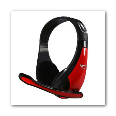KINYO 高音質立體聲耳機麥克風EM3650