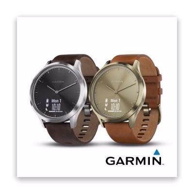 Garmin Vivomove HR 時尚智慧腕錶 典雅款