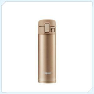 象印*0.48L*OneTouch不鏽鋼真空保溫杯(SM-KC48)-玫瑰金