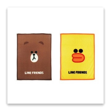 LINE FRIEND正版授權 熊大 可愛保暖毛毯