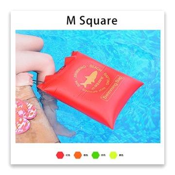 M Square戶外沙灘收納袋/充氣坐墊(綠)